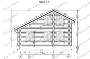 Дом-из-бревна-6х9-вид-1-(проект-Л36)