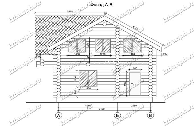 Дом-из-бревна-8х10-вид-2-(проект-635)
