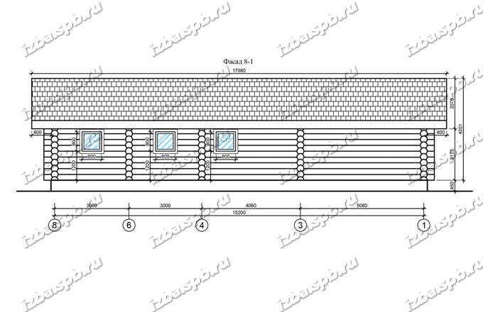 Баня-из-бревна-10х16-вид3-(проект-Л77)