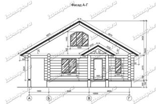 Дом-из-бревна-11х11,-вид-1-(проект-Л44)
