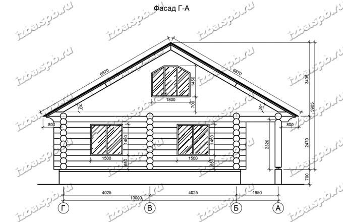 Дом-из-бревна-11х11,-вид-2-(проект-Л44)
