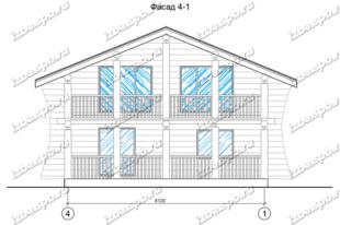 Дом-из-бревна-9х9,-вид-2-(проект-938)