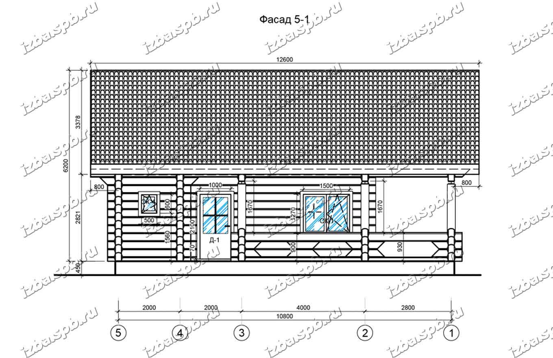 Дом-из-лафета-11х12,-вид-3-(проект-Н545)