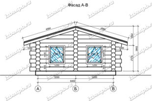 Баня-из-бревна-8х12,-вид-1-(проект-Н2243)