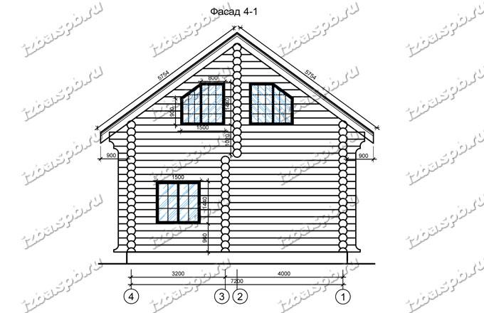 Дом-баня-из-бревна-8х10,-вид-2-(проект-946-Чайковский)