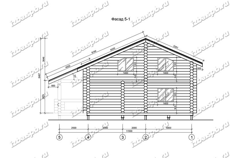 Дом-из-бревна-11х12-вид-2-(проект-Н1126)
