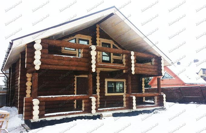 Дом из бревна в г.-Сестрорецке