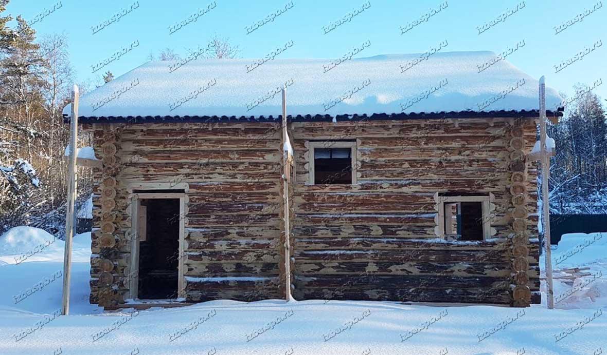 Сборка-сруба-9х9-в-д.-Савочкино-1