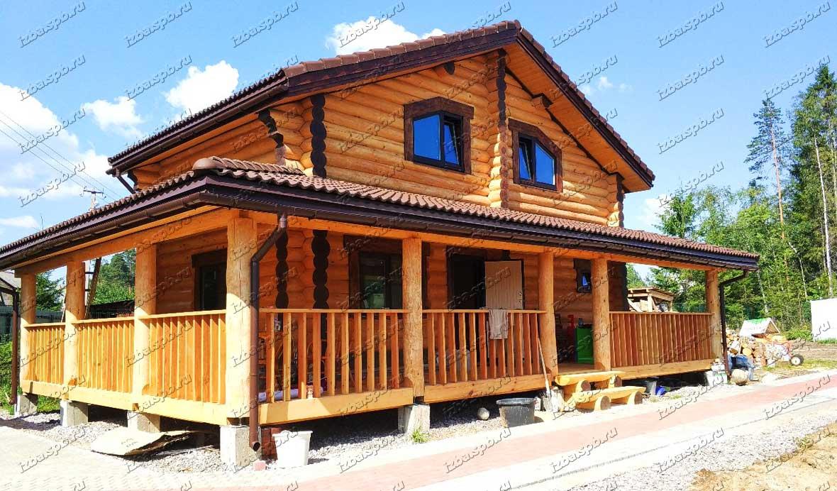 Дом 8х12 в п. Рощино