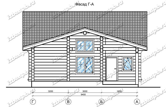 Дом-из-лафета-10х12,-вид-3-(проект-Н2451)