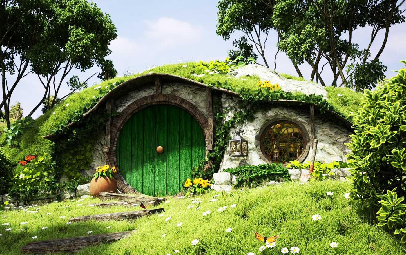 Эко дом землянка
