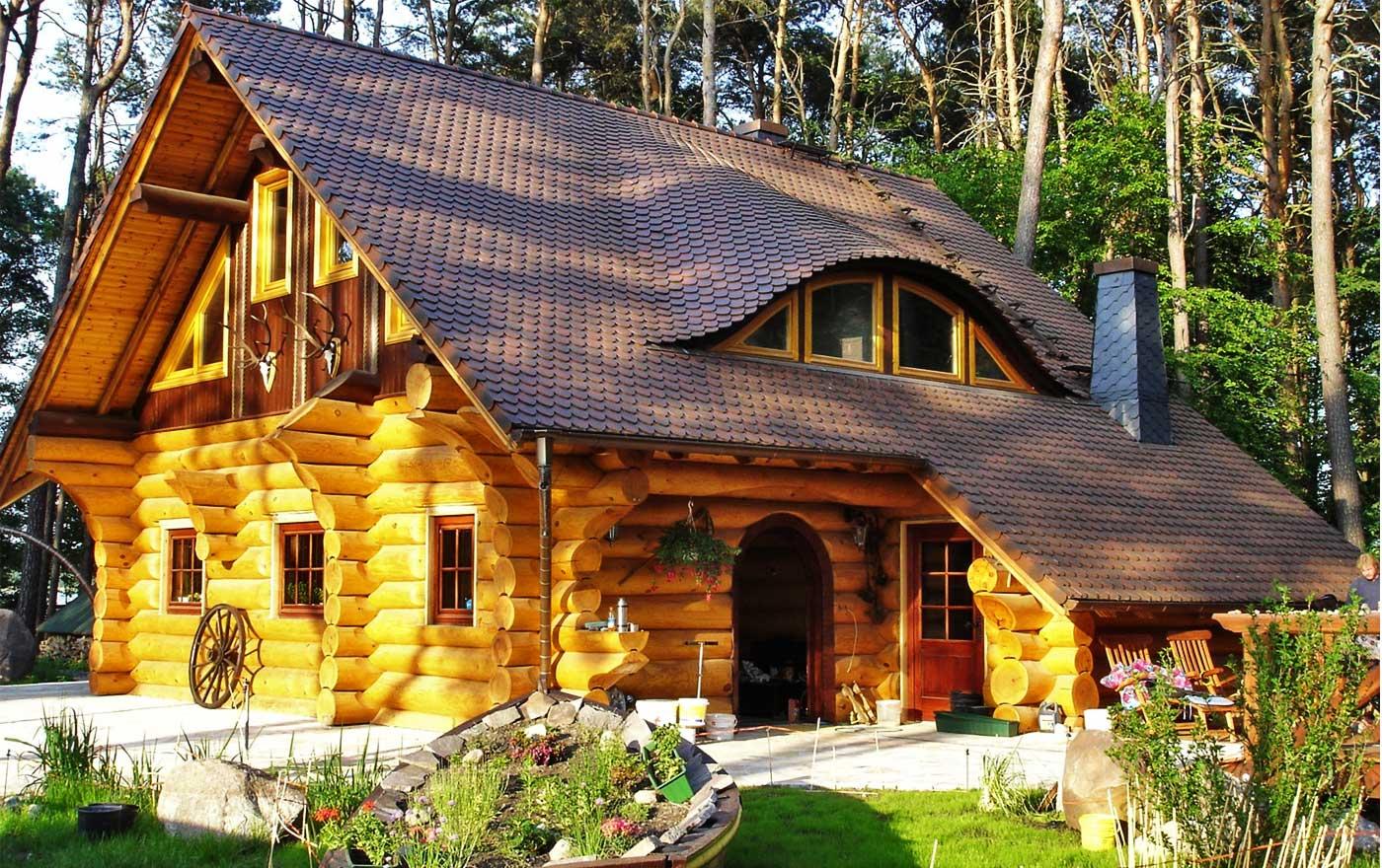 Эко дома из бревна