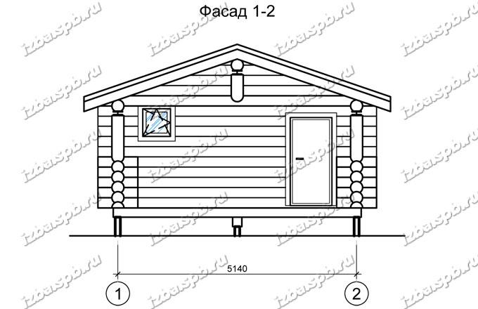 Баня-из-бревна-6х4+2,-вид1-(проект-Н652)