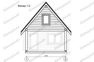Баня-из-бревна-6х6-+1,5,-вид1-(проект-Л1155)
