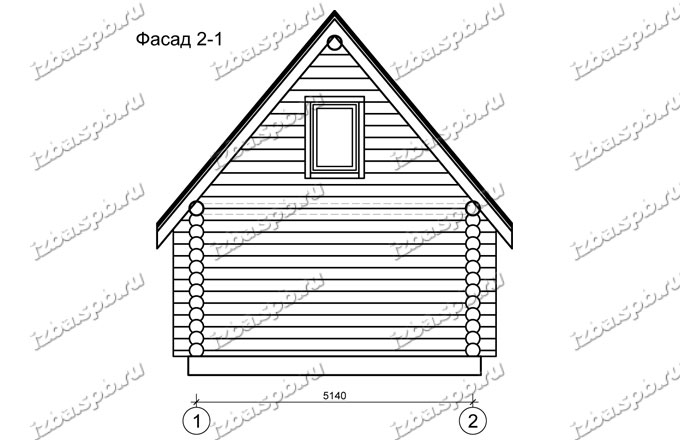 Баня-из-бревна-6х6-+1,5,-вид2-(проект-Л1155)