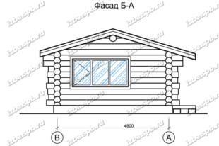 Баня-из-бревна-6х8,-вид-1-(проект-Н2257)
