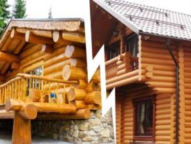 Дом-из-оцилиндрованного-бревна-или-ручная-рубка