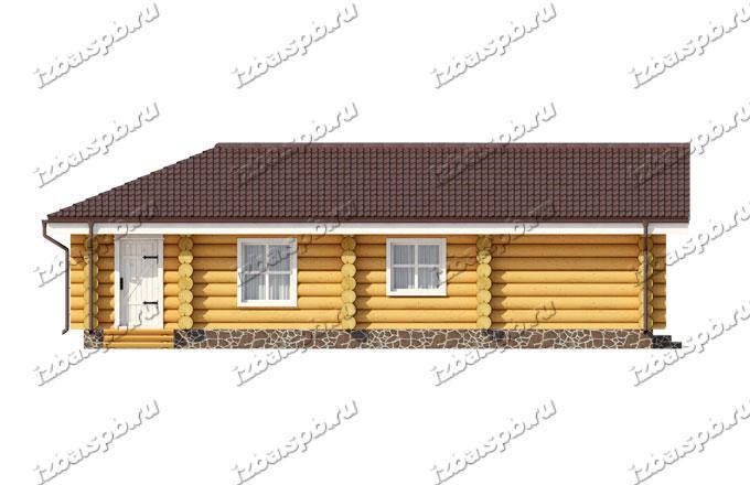 Дом-из-бревна-Шишкин,-фасад-3