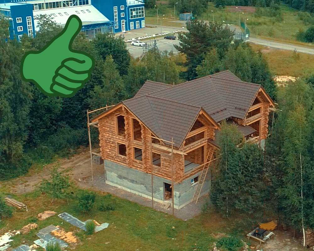 Многоскатная-крыша-для-сруба
