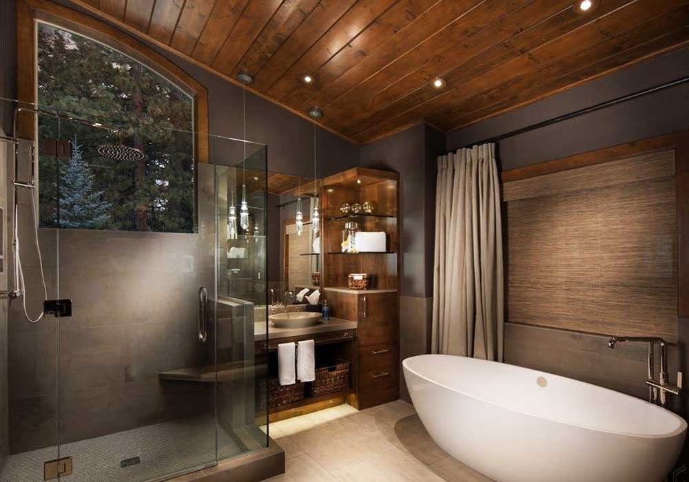 ванная с окном