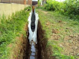 Дренаж-участка-с-высоким-уровнем-грунтовых-вод