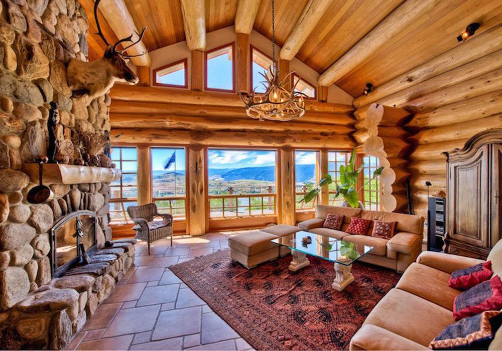 естественное освещение в деревянном доме