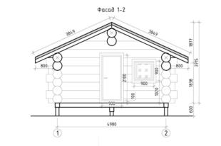Баня-из-бревна,-проект-Н2869,-вид-4