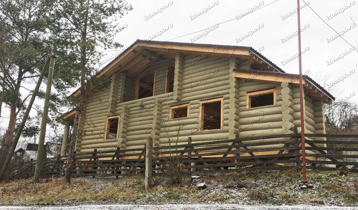 Дом-из-бревна-для-зимнего-проживания