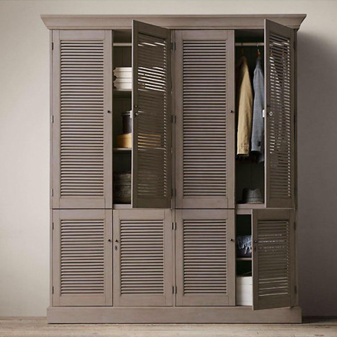 Мебель-для-спальни-в-деревянном-доме