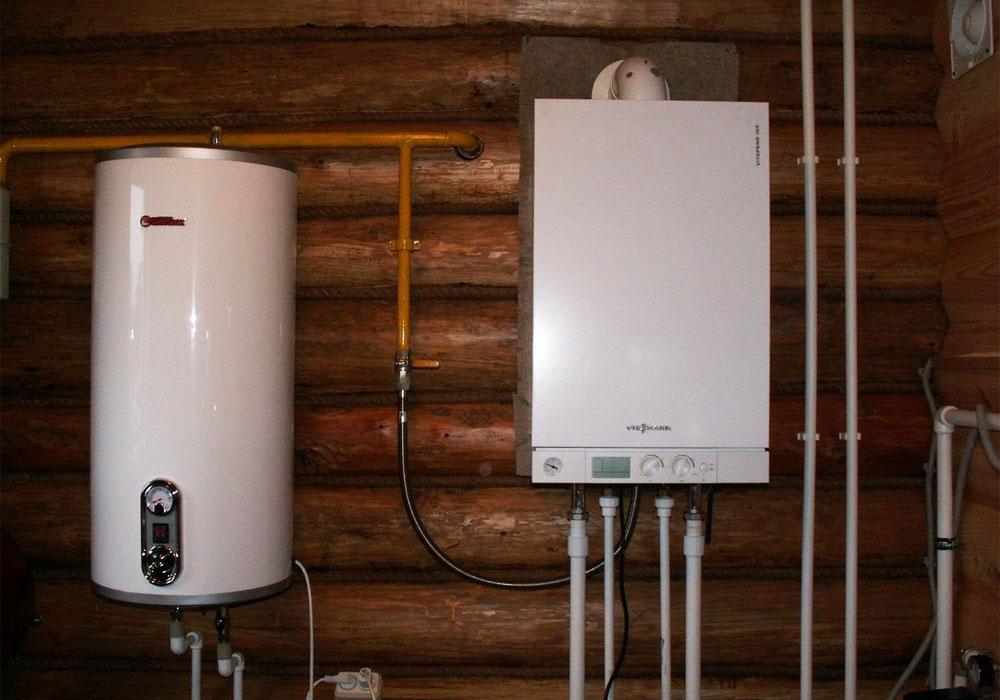 Отопление электрическим котлом в деревянном доме
