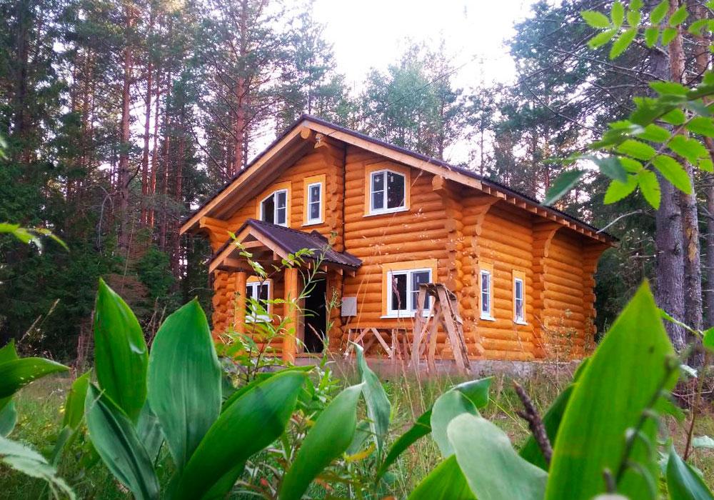 Дом из бревна по сельской ипотеке
