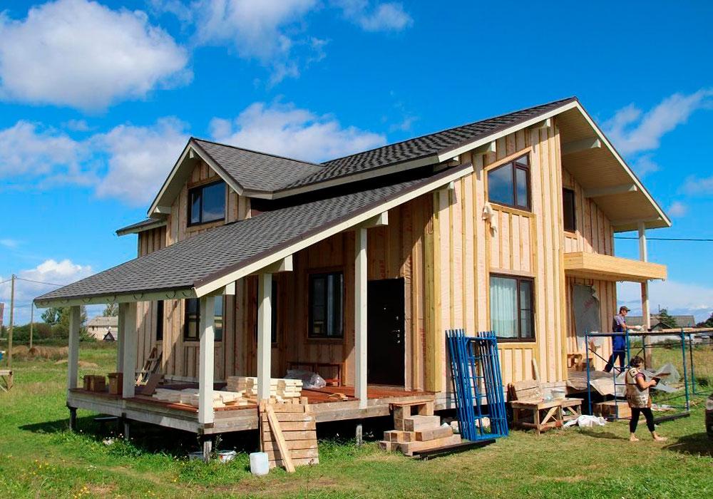 Каркасный или бревенчатый дом: что лучше?