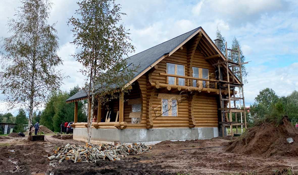 Дом 11х15 метров в с. Колчаново